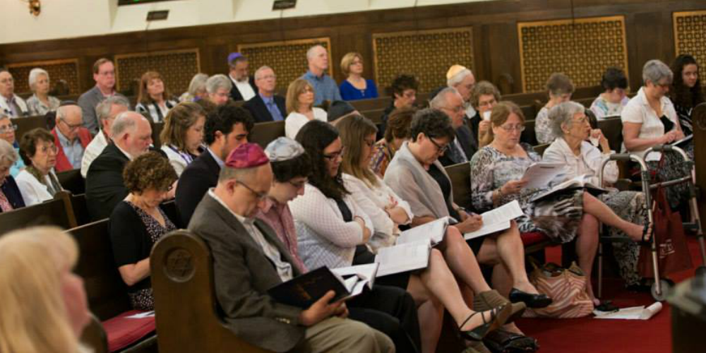 Shabbat Morning at Temple Beth Israel